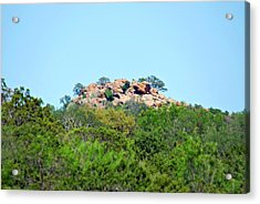 Acrylic Print featuring the photograph The World Above by Teresa Blanton