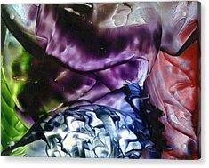The World Below Acrylic Print by Steve  Heit