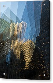 Acrylic Print featuring the photograph The World Keeps Turning by Alex Lapidus