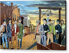 The World Of Classic Westerns Acrylic Print by Tony Banos