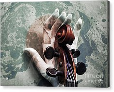 The World Of Sound  Acrylic Print by Steven Digman