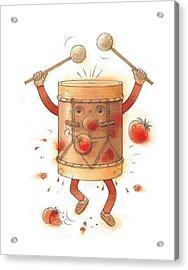 The Worst Musician Acrylic Print by Kestutis Kasparavicius