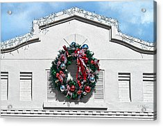 The Wreath Acrylic Print by Christopher Holmes