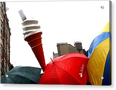 The Wrong Day For Ice Cream Acrylic Print by Jez C Self