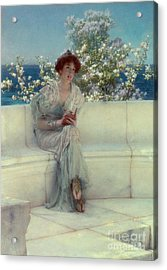 The Year's At The Spring -  All's Right With The World Acrylic Print by Sir Lawrence Alma-Tadema