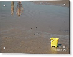 The Yellow Bucket Acrylic Print