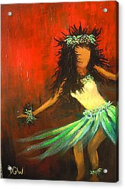 The Young Dancer Acrylic Print