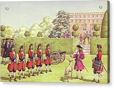 The Young Duke Of Gloucester Had His Own Army To Play With Acrylic Print by Pat Nicolle