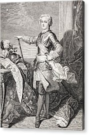 The Young King Louis Xv Of France, 1710 Acrylic Print by Vintage Design Pics