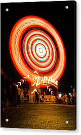 The Zipper Acrylic Print by Bryan Moore