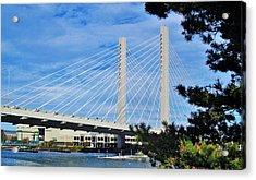 Thea Foss Bridge  Acrylic Print