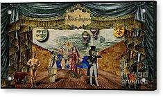 Theatrum Imaginarius -theatre Of The Imaginary Acrylic Print by Cinema Photography