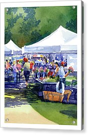 Theinsville Farmers Market Acrylic Print