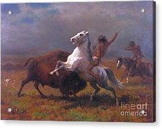 The_last_of_the_buffalo Acrylic Print