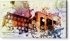 Them Olden Days Acrylic Print