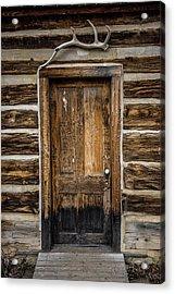 Theodore Roosevelt Cabin Door Acrylic Print