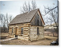 Theodore Roosevelt Cabin End Acrylic Print