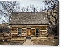 Theodore Roosevelt Cabin Acrylic Print