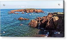 Acrylic Print featuring the photograph Theoule-sur-mer by Ron Dubin