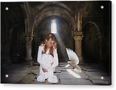 There Is Always Hope Acrylic Print by Gun Legler