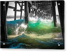 There Is Hope Under The Pier Acrylic Print