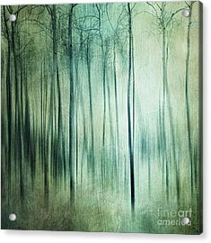 There Is Light Somewhere Acrylic Print by Priska Wettstein
