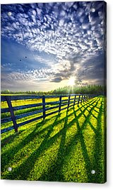 There Is More That Unites Than Divides Acrylic Print