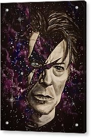 There's A Starman Waiting In The Sky Acrylic Print