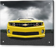 There's A Storm Coming - Camaro Ss Acrylic Print