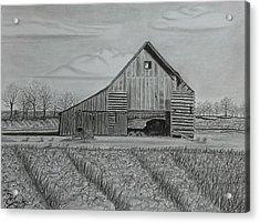 Theresa's Barn Acrylic Print