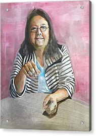 Therese Acrylic Print