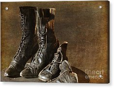 These Boots Are Made For Walking Acrylic Print