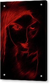 Acrylic Print featuring the digital art These Eyes by John Haldane