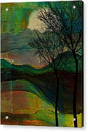 These Hills Acrylic Print