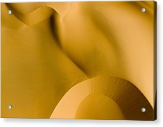 These Luscious Dunes Are Located Acrylic Print by Michael Fay