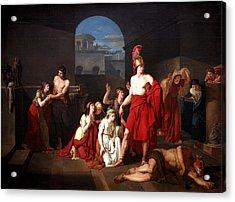 Theseus Victor Of The Minotaur Acrylic Print