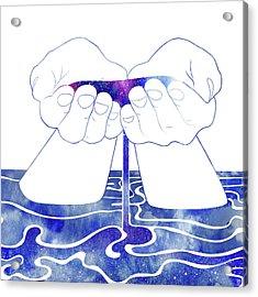 Thetis Acrylic Print by Stevyn Llewellyn