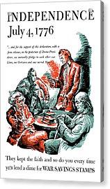 They Kept The Faith - Ww2 Acrylic Print