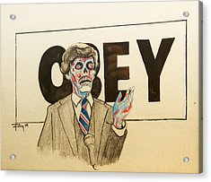 They Live Acrylic Print by Christopher Chouinard