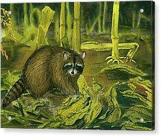 Thief In The Night Acrylic Print by Bud Bullivant