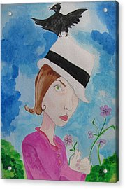 Thief Of Hats Acrylic Print
