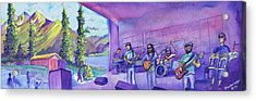 Thin Air At Dillon Amphitheater Acrylic Print by David Sockrider