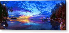 Thin Ice 2 Acrylic Print by ABeautifulSky Photography by Bill Caldwell
