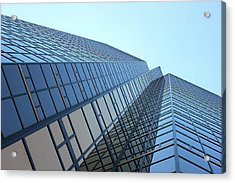 Things Are Looking Up Southfield Michigan Town Center Building Perspective Acrylic Print