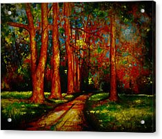 Think About This Acrylic Print