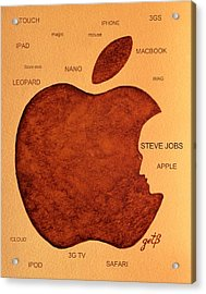 Think Different Steve Jobs 2 Acrylic Print