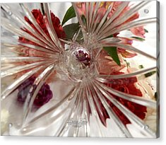 Think Outside The Vase #8801_0 Acrylic Print by Barbara Tristan