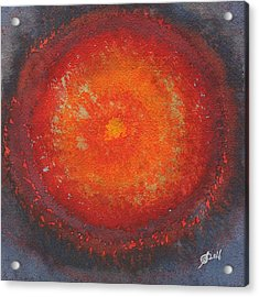 Third Eye Original Painting Acrylic Print