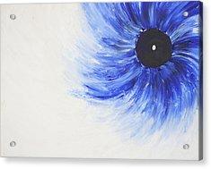 Third Eye-ris Acrylic Print by Malik Jaffer