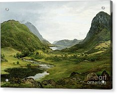 Thirlmere Acrylic Print by John Glover